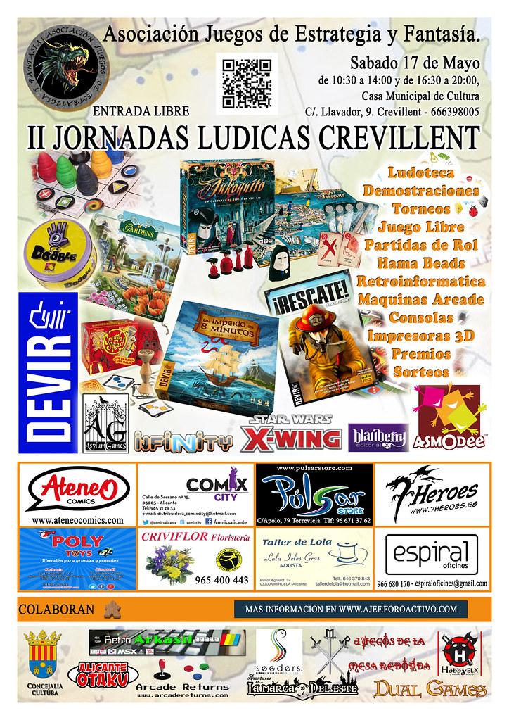 II JORNADAS LUDICAS DE CREVILLENT (Sábadfo 17 de Mayo 2014) 14053955404_88d0c44e89_b