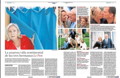 14e30 La vida sentimental de las Le Pen
