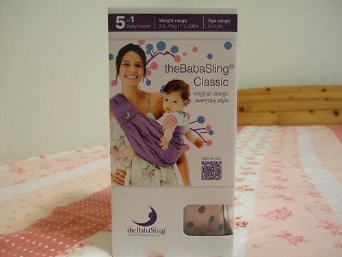 theBabaSling 嬰兒背巾@Bloom & Grow 產品試用