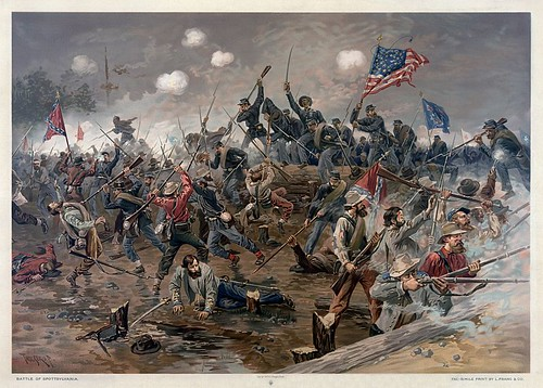 800px-Battle_of_Spottsylvania_by_Thure_de_Thulstrup