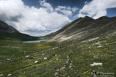 Lago della Duchessa e monte Vena Stellante, da Cartore (Parco reg. Velino-Sirente)