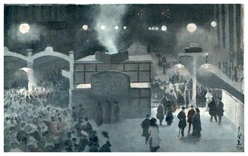 019-Exodo nocturno en la estacion central de Liverpool