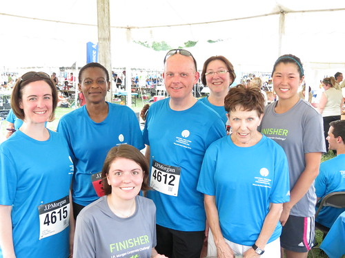 JP Morgan Corporate Challenge 2014