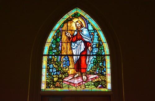 Stained Glass Window #1 Vasa Lutheran Church, Vasa Minnesota