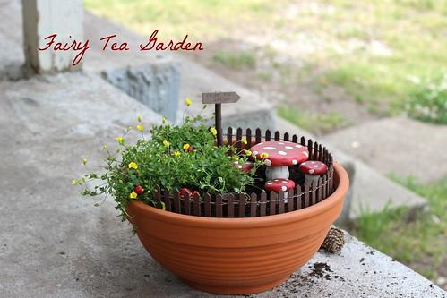 Fairy Garden Post