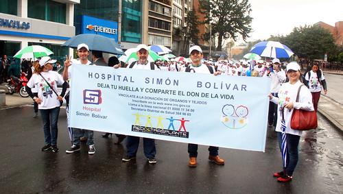 Marcha de donacion de organos 2014