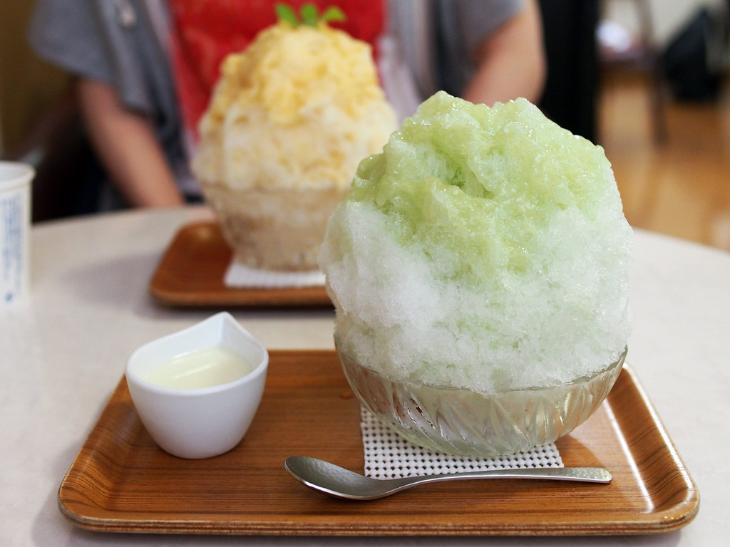 Japanese Ice Shaved - Melon