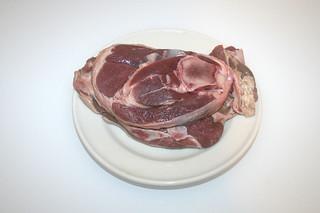 02 - Zutat Lammfleisch / Ingredient lamb