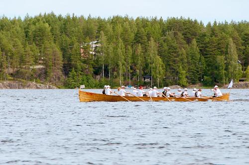 summer lake green nature water race suomi finland landscape outside outdoors boat nikon long row rowing nikkor 18200mm sulkava nikond90