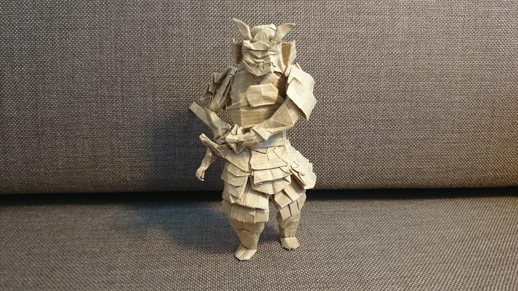 Samurai By Karol Kafarski Folded Me