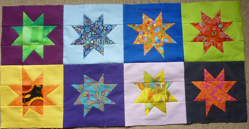 stars sewn together