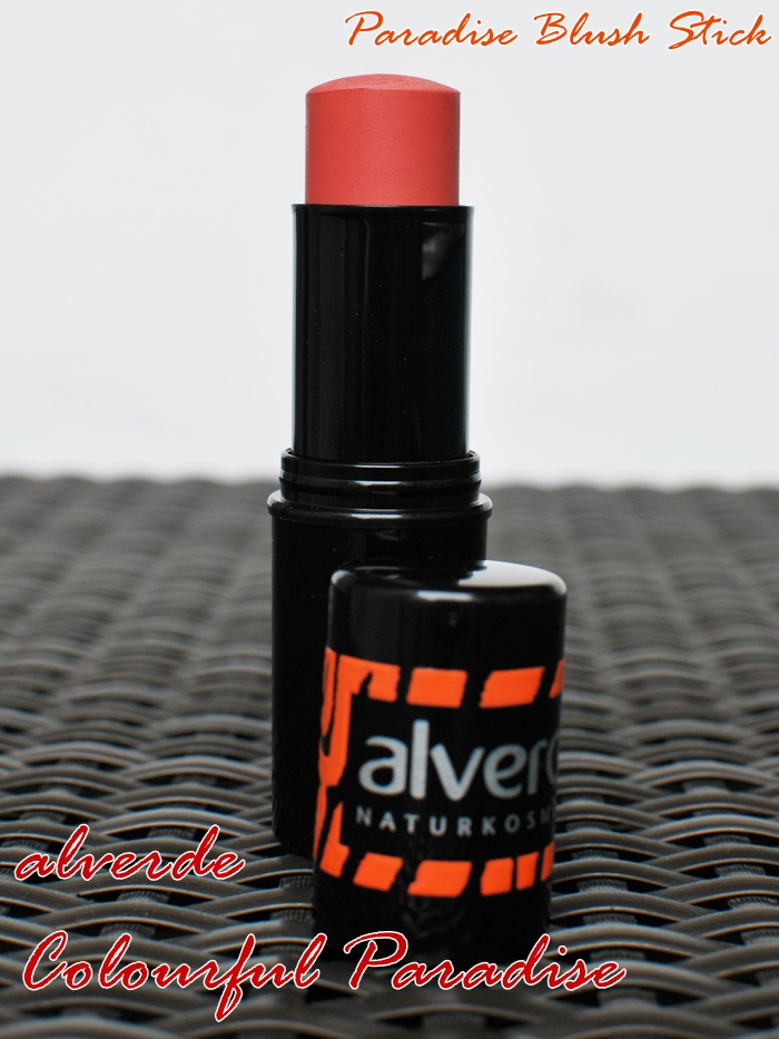 alverde paradise blush stick 10 Burning Sunset
