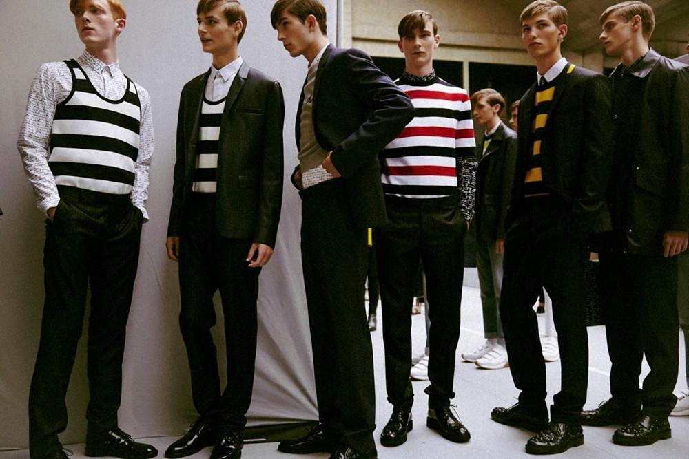 SS15 Paris Dior Homme321_Linus Wordemann, Ben Allen, Matthieu Gregoire, Dominik Hahn, Kevin Carlbom, Sam Rosewell(dazeddigital.com)