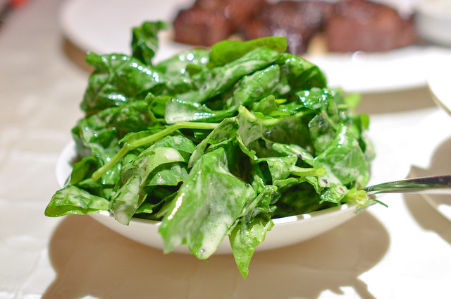 TRUFFLED SPINACH