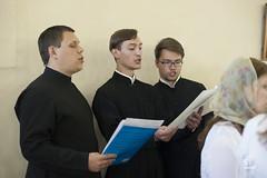 12-13 июля 2014, После 95-летнего перерыва в храме Двенадцати апостолов Санкт-Петербургской православной духовной академии впервые совершено празднование престольного дня