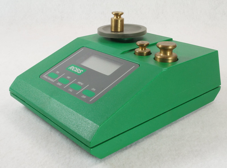 RD14599 RCBS PACT Electronic Digital Precision Powder Dispenser & Scale RD14598 DSC06349