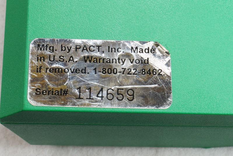 RD14599 RCBS PACT Electronic Digital Precision Powder Dispenser & Scale RD14598 DSC06344