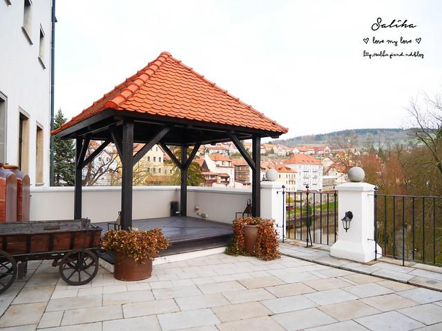 Hotel Ruze薔薇飯店Charming Hotel in cesky Krumlov中世紀扮裝晚餐-自助式早餐 (9)