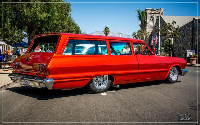1963 Chevrolet Impala Wagon - Cruisin Route 66 Reunion 2016 - Ontario, CA