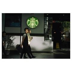 Coffee Maiden • • • • • #leica_streetphotography #streetshooter #street_photography #streetphotographer #leicashooter #leica_world #leica_camera #leicam4p #starbuckscoffee #consumers #globalgluttony #kodakgold #kodak_film #kodakgold400 #35mmfilmphotograph