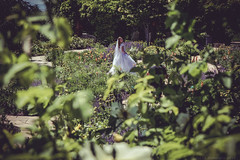 The Bride at the Red Butte Garden and Arboretum