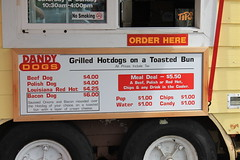 Hot Dog Stand at Dandy Dogs