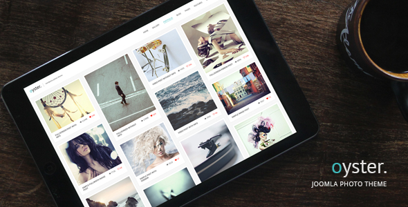 Oyster v2.0 - Creative Photography Joomla Template
