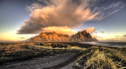vestrahorn vesturhorn brunnhorn stokksnes dawn clouds landscape 1124l eos canon 5d 5d3 canon5dmark3 canon5d3 blacksand sand dunes canonef1124f4l stokkness stokknes