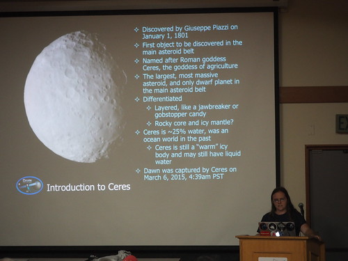 PB043581 SBAU meeting Nov 2016 Keri Bean JPL Dawn Mission Ceres