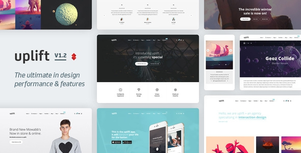 Uplift v1.2.60 - Responsive Multi-Purpose WordPress Theme