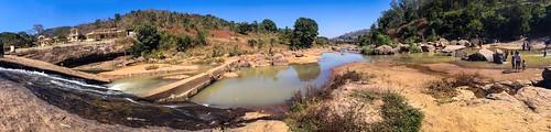 photohopexpress hugerocks 2016 cascadingoverrocks cascade waterfall chaparai crowdedanddirty panorama araku travel arakuvalley panoramic ananthagirihills rockyriverbed naturalwaterslide