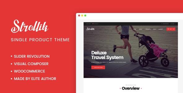 Strollik v1.1.8 - Single Product WooCommerce WordPress Theme