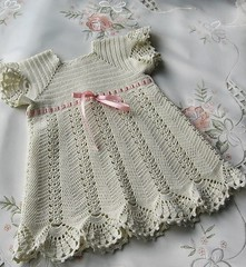❤😘😊 like this thin dress crochet baby see, step by step