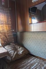 Night train Toshkent-Buxoro interior