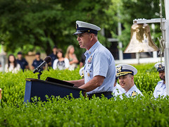 MCPOCG Leavitt speaks at TRACEN Yorktown CMC Change of Watch - 1