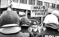 """against the """"npd-tour"""" through berlin..."""