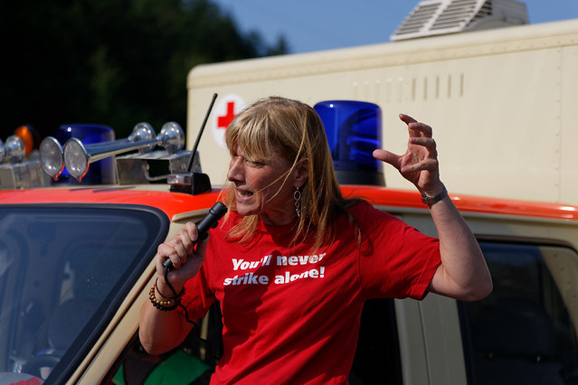 Protestmarsch Verkehrsentlastung Oberau B2neu