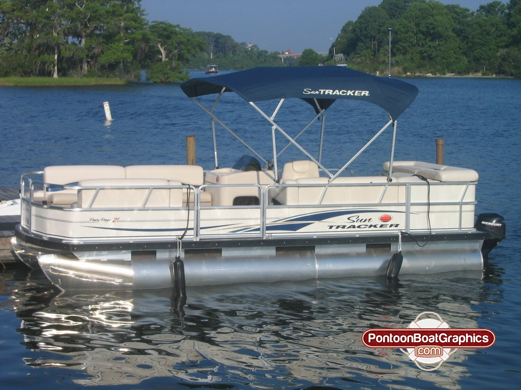 Pontoon Boat Graphics Striping Vinyl Decals Welcome To
