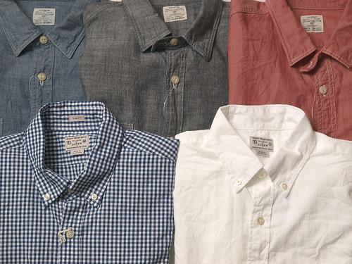 J.Crew - Basic Shirts