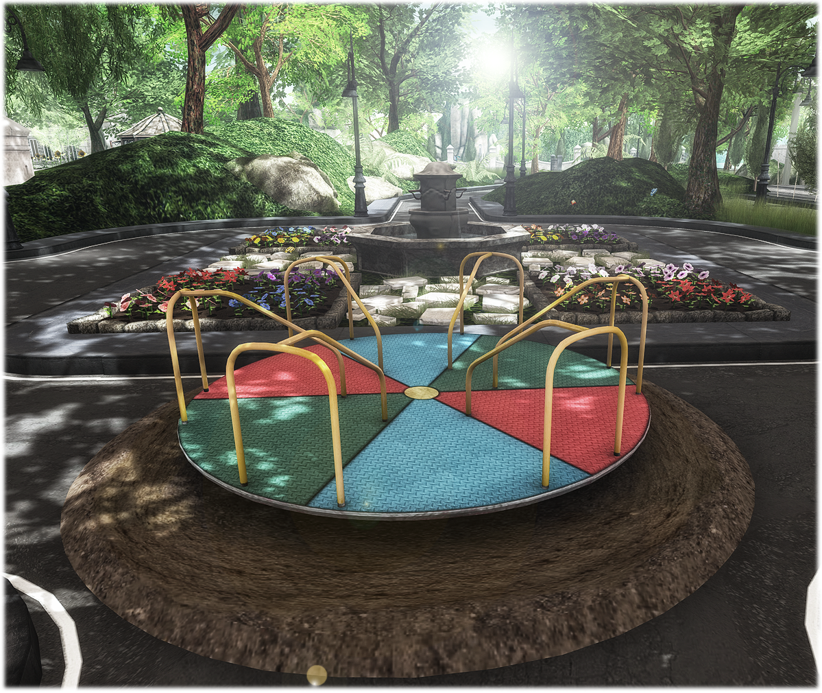 Playground Roundabout by WHAT NEXT