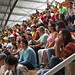Spectators watching aeromusicals