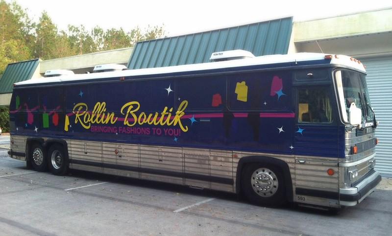 Bus wrap Orlando