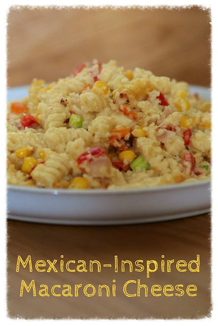Mexican macaroni cheese