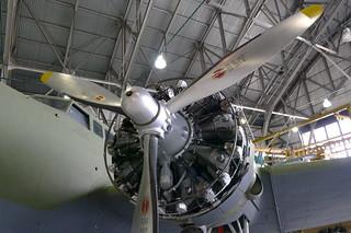 Wright R-1820 Sternmotor