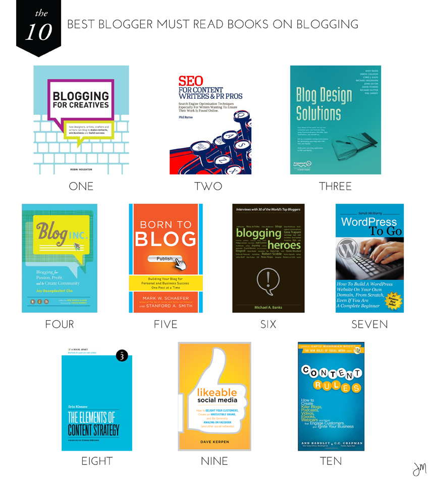 Julip Made 10 best books for bloggers2