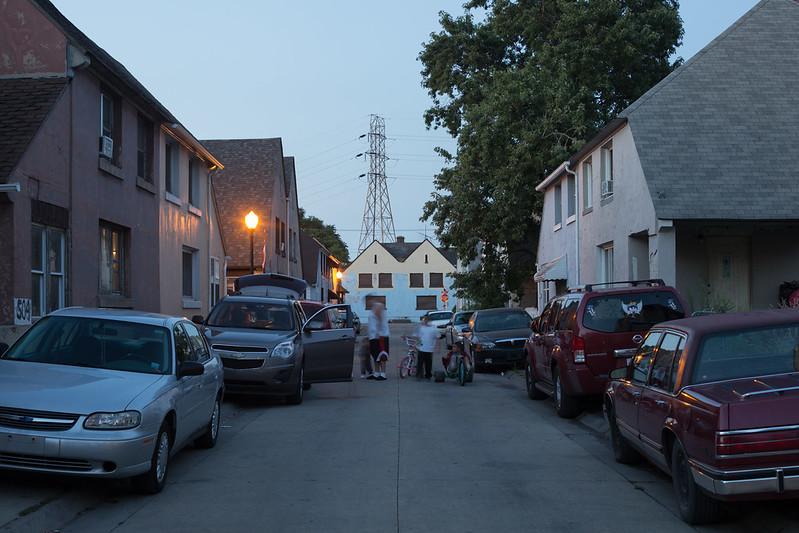 Marktown Street at Dusk