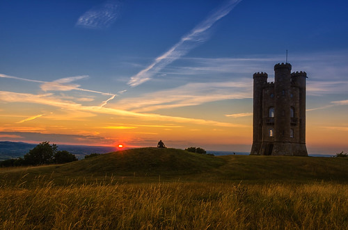 light sunset summer landscape nikon colours broadway cotswolds worcestershire broadwaytower d7000 jactoll