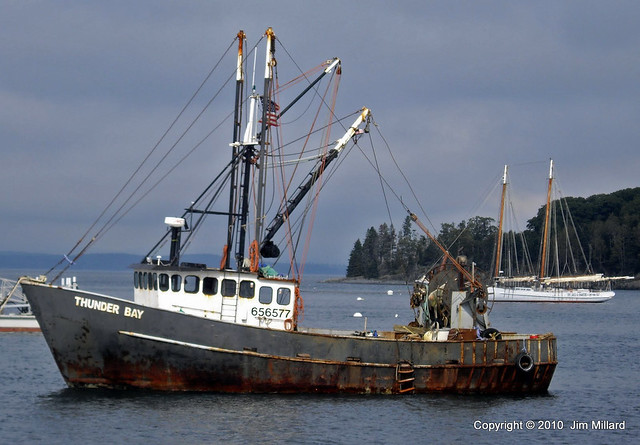 fishing boat at bar harbor maine flickr photo sharing
