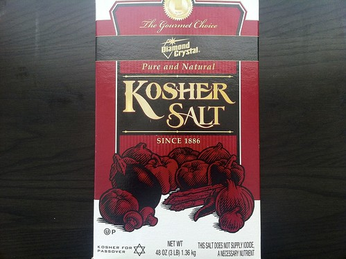 Box of Kosher Salt