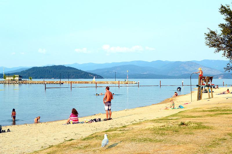 Sandpoint Beach